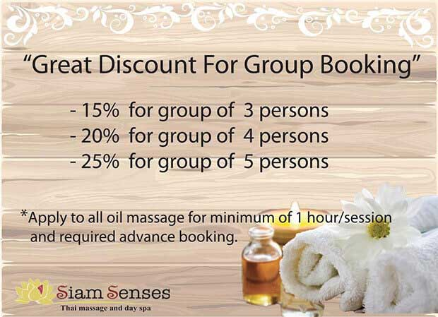 Group Booking Discount